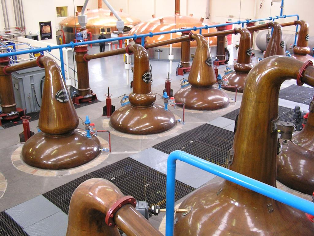 glenfiddich stills