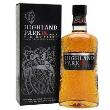 Highland Park 10 yo Viking Scars - Single Malt Whisky Islands - Inh. 70 cl - Alc. Vol. 40 %
