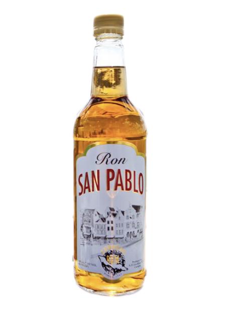 Rum San Pablo Gold - Inh. 70 cl - Alc. 36% Vol.