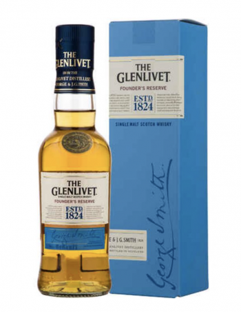 Glenlivit Founders Reserve Malt Whisky - Inh. 20 cl - Alc. 40% Vol.