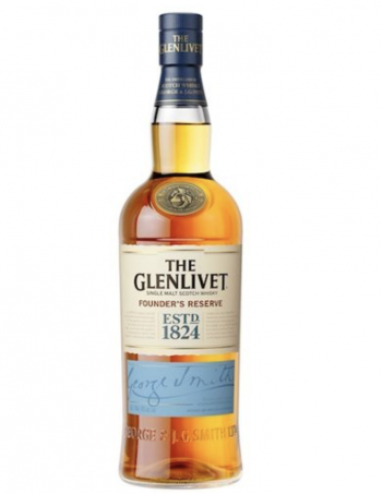 Glenlivit Founders Reserve Malt Whisky - Inh. 70 cl - Alc. 40% Vol.