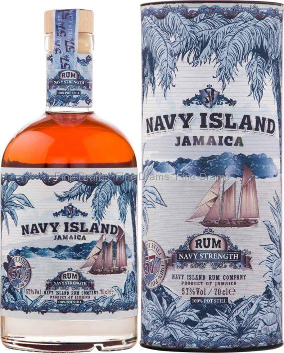 Rum Navy Island, Navy Strenght - Inh. 70 cl - Alc. 57% Vol.